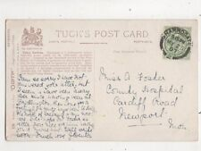 Miss A Foster County Hospital Cardiff Road Newport Monmouthshire 1907 658b