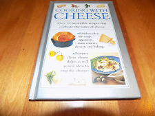 COOKING WITH CHEESE Cheeses Recipes Cooking Dishes Recipe Cookbook Cook Book NEW