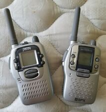 "jWin two-way walkie-talkie promo items from the film ""Bandits"" (2001) - used"