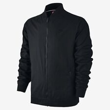 Men's Nike Sportswear Varsity Jacket Black Size Large 727322 010 NWT windrunner