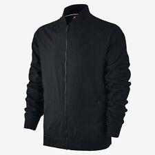 Men's Nike Sportswear Varsity Jacket Black Size Large 727322 010 NWT