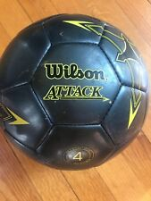 Wilson Attack Soccer Ball Size 4 (8-12 Year)