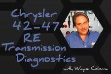 Chrysler 42-47 RE Transmission Diagnostics/ DVD/ Manual/ 132