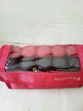 Remington Portable/Travel Hot Hair Curlers / Rollers W/ Clips 10 Rollers