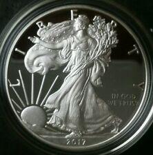 2017 W Proof $1 American Silver Eagle Dollar