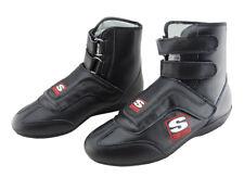 Simpson Stealth Sprint Cuir Course Bottes, Sfi Compatible, Ovale / Drag, UK5 -