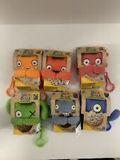 Lot Of 6 Ugly Dolls To Go Keychain Plush Toys