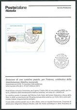 2001 ITALIA BOLLETTINO ILLUSTRATIVO N. 23 VASTOPHIL VASTO