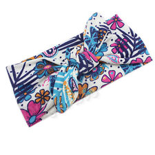 Baby Kids Girl Flower Bow Hairband Turban Knot Rabbit Headband Headwear Good #03