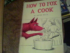 1959 How To Fox A Cook in Gates Mills Ohio by The Women of the Parish ckbk4