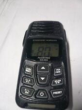 Standard Horizon HX300 Handheld Floating VHF Radio  INCOMPLETE READ AD