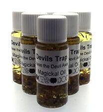 DIABLOS Trampa Herbal Magia Unción 10ml Aceite CHASE THE DEVIL AWAY