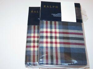 2 Ralph Lauren Saranac Peak Bentwood euro shams $260