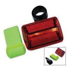 New Red Flashing 5 LED 7 Function Safety Light w/ Arm Band & Bike Mount FL26RY25