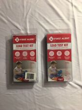 2 Pack! First Alert Lead Test Kit- for Water & Surfaces- Multi-Purpose Test Kit