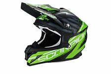 Cross enduro casco moto integrale Scorpion VX-15 EVO Air GAMMA verde satinato >M