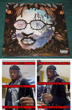 "QUAVO signed Autographed ""QUAVO HUNCHO"" SOLO ALBUM LP - PROOF - Rapper Migos COA"