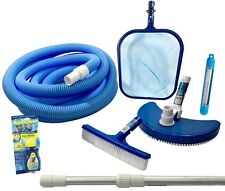 Pool Cleaning, Blue Wave Standard Maintenance Kit, Above Ground Pools, Brushes