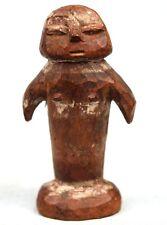 Art Africain Arts Premiers - Ancienne Statuette Cérémonielle Adan - 9,8 Cms ++++