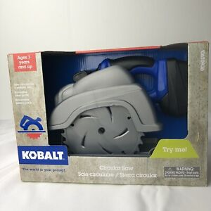 Kobalt, Play Toy Circular Saw, Vibrates, Simulated Laser Guide, Battery Pack