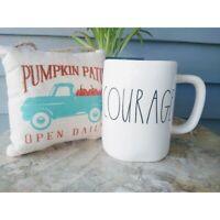 Rae Dunn Courage Mug Artisan Collection by Magenta Large Coffee Tea Mug New
