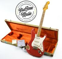 Fender USA Custom Shop 56 NOS Stratocaster Heavy Relic Fiesta Red & Case & COA
