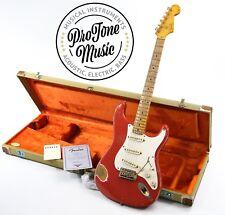 Fender USA Custom Shop 56 NOS Stratocaster Heavy RELIC Fiesta Rosso & Custodia & COA