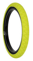 1 x RANT SQUAD BMX BIKE BICYCLE TIRE 20 x 2.20 SHADOW SUBROSA HIGHLIGHTER YELLOW