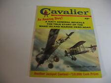 Vintage CAVALIER magazine MAY 1961 MGR ALVIN DARK; HORSE STUNTMEN; MAN-EATERS-VG