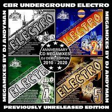 CBR Underground Electro (Anniversary Double CD Megamixes) 2010-2020*ELECTRO*Rare