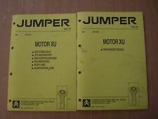 Werkstatthandbuch Motor XU 2L Benziner Citroen Jumper 03.1994