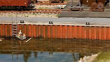 FALLER HO scale ~ 'HARBOUR WALLS' ~ plastic model kitset #131012