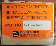 DEI ATC DIVERSIFIED ELEC CM0 120 ASE 5 AC Over Current Relay CM0-120-ASE-.25