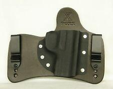 FoxX Holsters Leather & Kydex IWB SOB Hybrid Holster Remington R51 Black LEFT