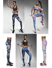 Sport Leggins Leggings Muster Radler Jogging Yoga Fitness Trend Sporthose