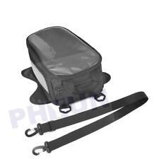 Motorcycle Oil Fuel Tank Bag Magnetic Motorbike Saddlebag For Honda Yamaha