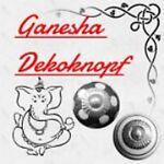 Ganesha-Dekoknopf