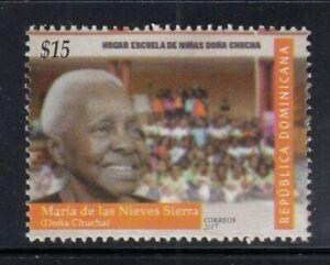 DOMINICAN REPUBLIC Hogar Escuela de Niñas Doña Chucha MNH stamp