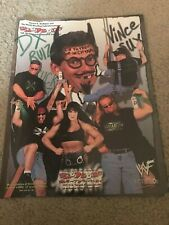 1998 WWF Catalog Mask Shirt Wrestling Buddies UNDERTAKER STONE COLD MANKIND DX
