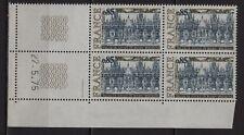 Ag237* Bloc x4 Timbres Neuf**MNH TBE (1974) +Coin daté [..ROUEN..] n°1806