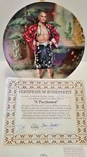 The King And I Plate Vintage 1985 Knowles Yul Brenner w/ certificate Brand New