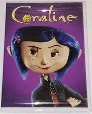 Coraline [DVD] New Factory Sealed [Kids/Family/Animation/Action/Adventure]