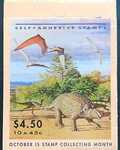 Australian Stamps: 1993 Australia's Dinosaur Era Booklet MNH