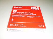Scotch 3M 22 Vinyl Plastic Tape 3/4 in. x 36 yds