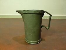 Outstanding Old english excessively marked pewter tankard [Y8-W7-A9-E9]
