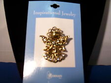 Angel Pin Metal with Rhinestones by Grasslands Road 3