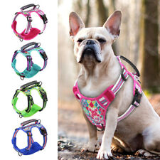 Front Clip Dog Lifting Harness With Handle No Pull Reflective Adjustable Bulldog