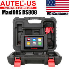 US Autel MaxiDAS DS808 Pro OBD2 Auto Diagnostic Tool Code Scanner Update ds708