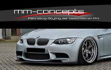 CUP Spoilerlippe M3 3er BMW E92 E93 Bj. 07 - 13 Front Schwert Splitter Lippe IN