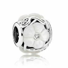Authentic PANDORA Luminous Florals Mother-of-pearl Charm 791894mop Retired